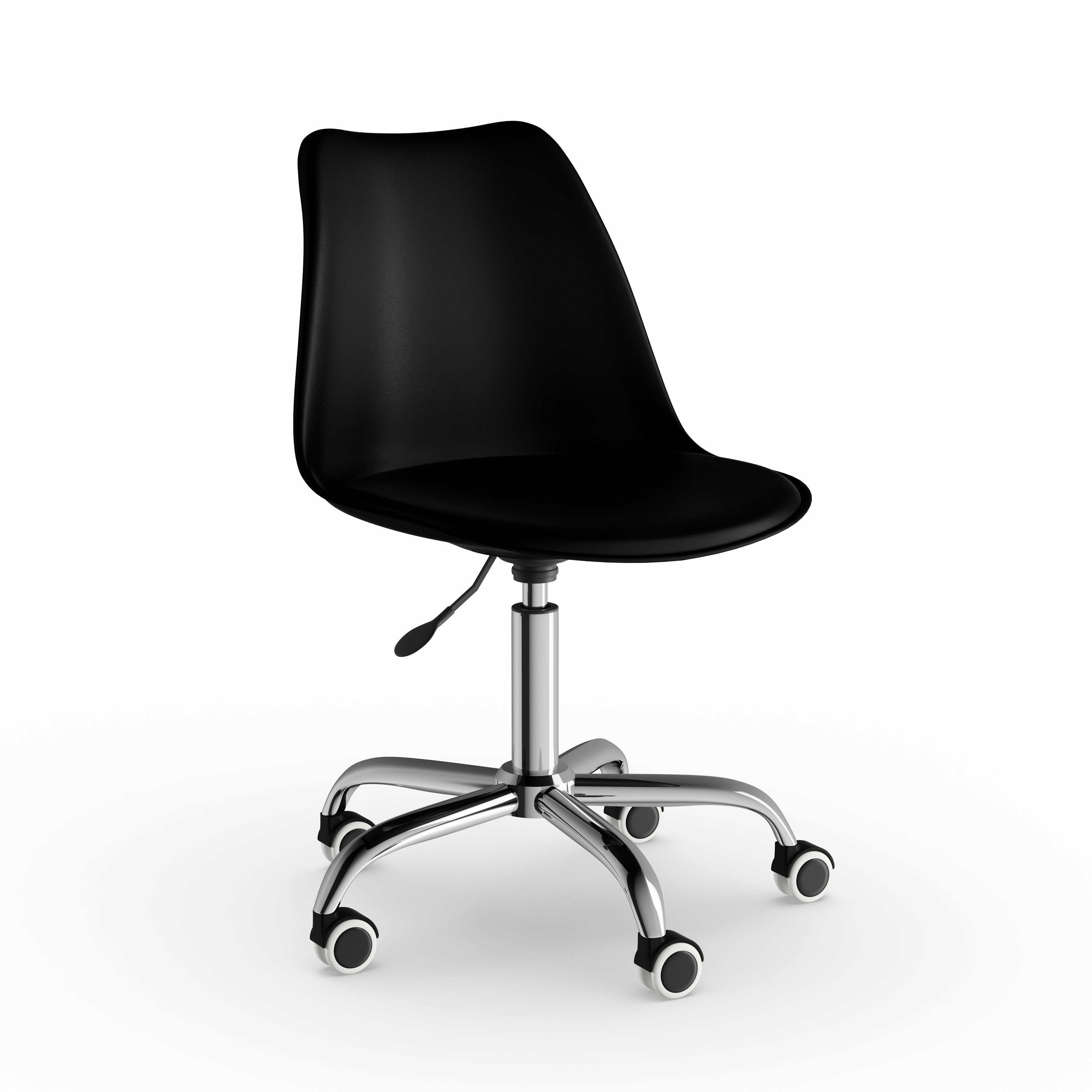 Chair With Wheels >> Carson Carrington Hedemora Leather Office Chair With Wheels