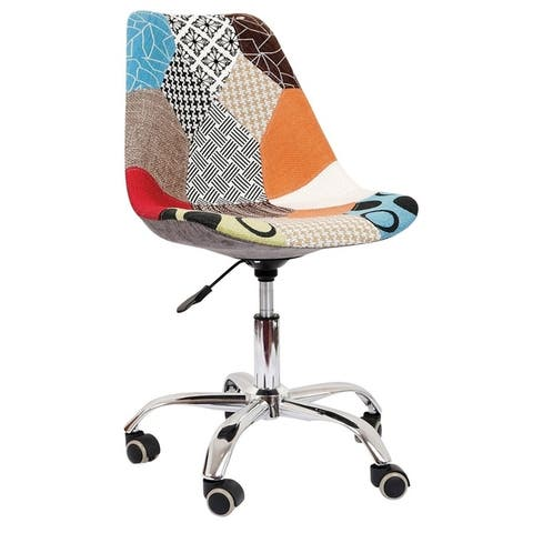 Carson Carrington Hedemora Leather Office Chair with Wheels