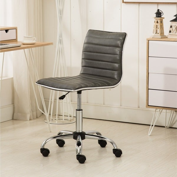 Carson Carrington Lund Chrome Contemporary Office Chair