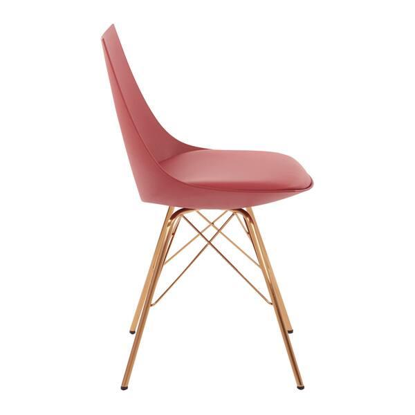 Swell Shop Carson Carrington Huskvarna Faux Leather Mid Century Theyellowbook Wood Chair Design Ideas Theyellowbookinfo