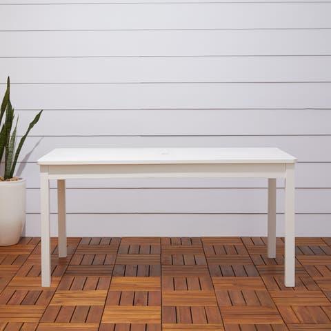 Havenside Home Surfside Outdoor Wood Rectangular Dining Table