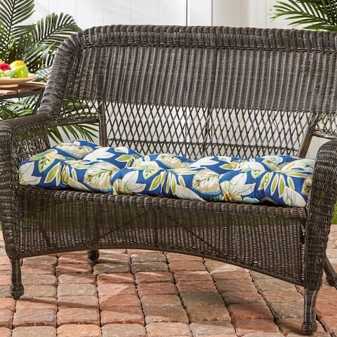 Crescent 17-inch x 44-inch Outdoor Swing/Bench Cushion by Havenside Home - 17w x 44l