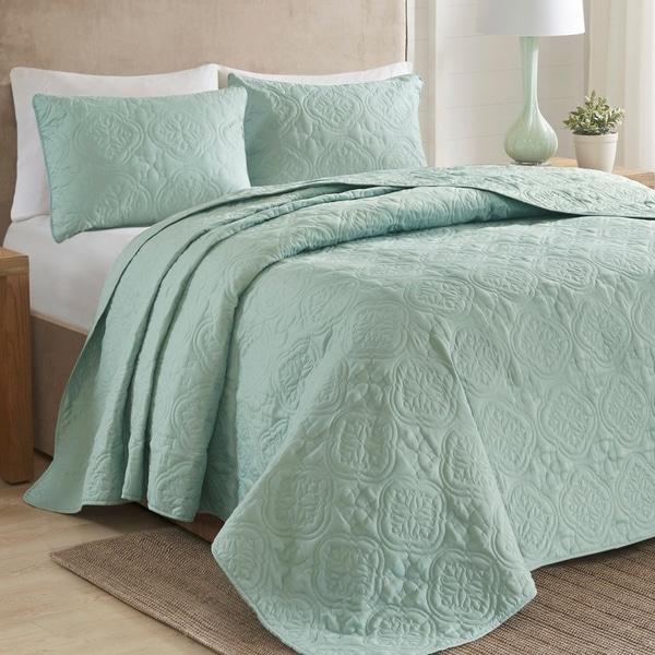510 Design Hayley 3-Piece Bedspread Set 3-color Option