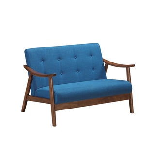 Hetel Mid-Century Modern Settee by Chirstopher Knight Home