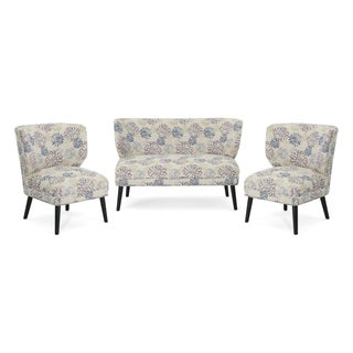 Desdemona Modern Farmhouse 3-Piece Chat Set by Chirstopher Knight Home