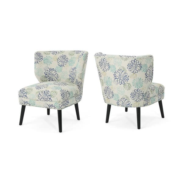 Modern Formal Living Room, Shop Desdemona Modern Farmhouse Accent Chairs Set Of 2 By Chirstopher Knight Home Overstock 22727912 Print