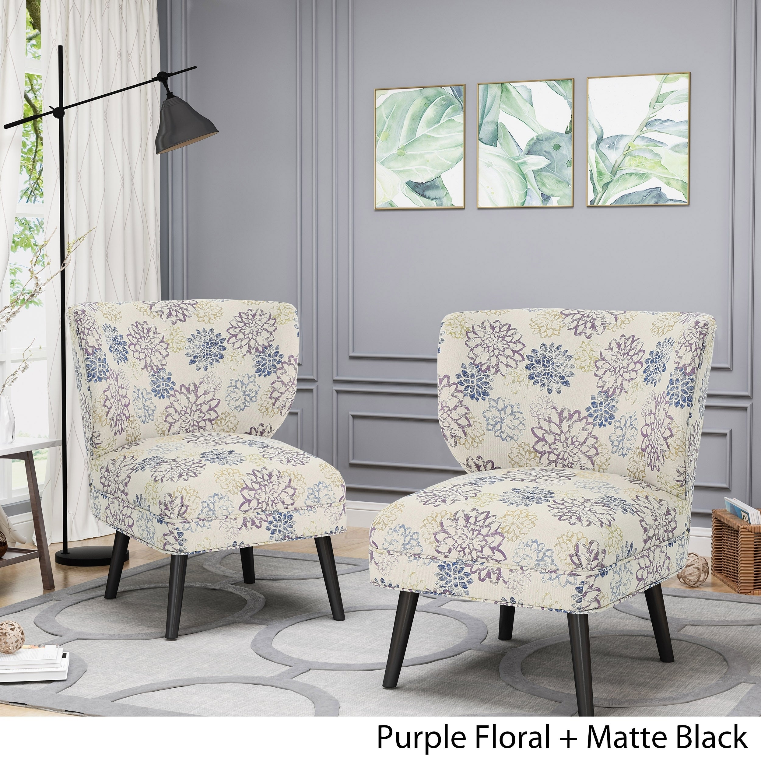 Desdemona Modern Farmhouse Accent Chairs Set Of 2 By Chirstopher Knight Home