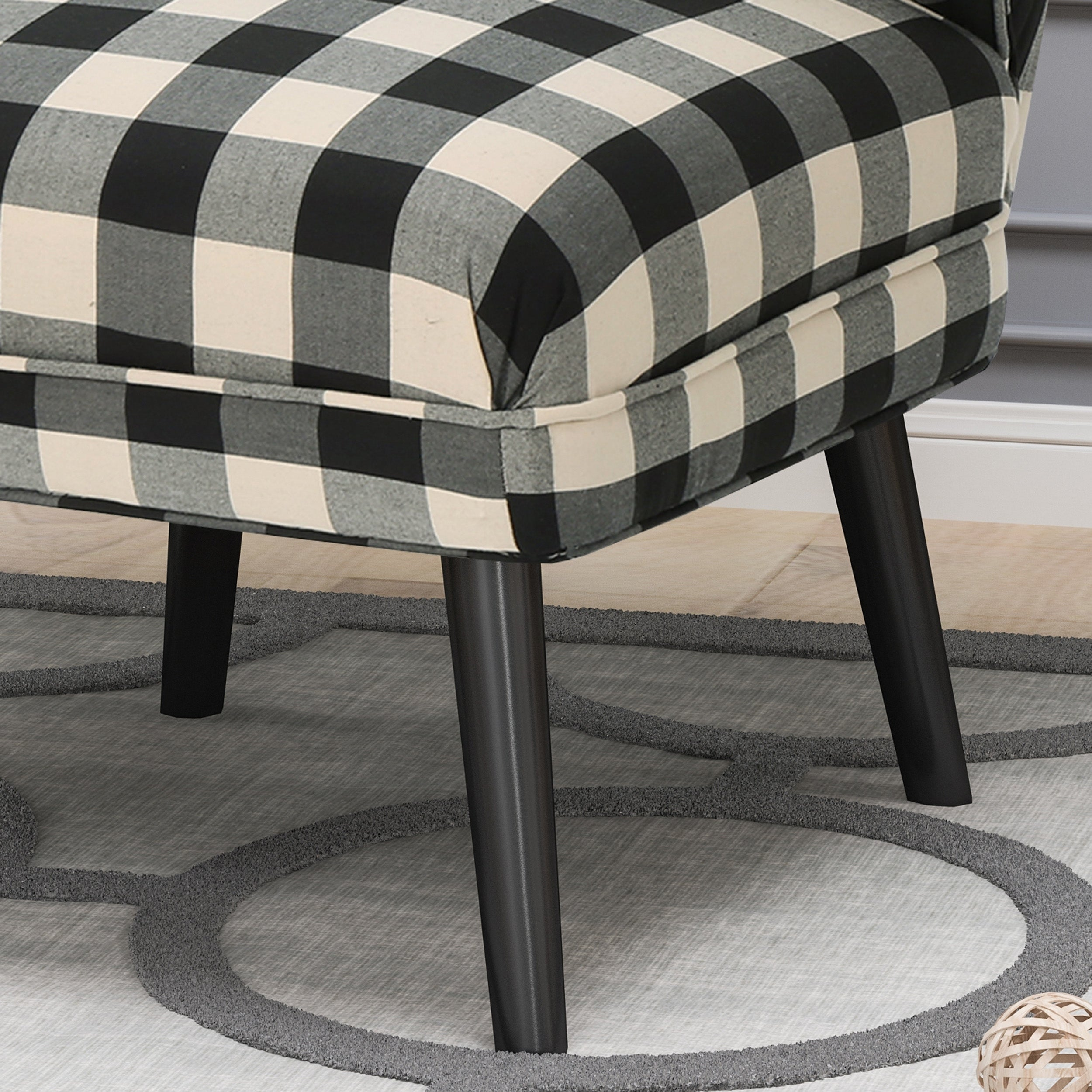 Desdemona modern farmhouse accent chairs set of 2