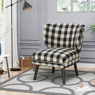 Desdemona Modern Farmhouse Accent Chairs (Set of 2) by Chirstopher Knight Home