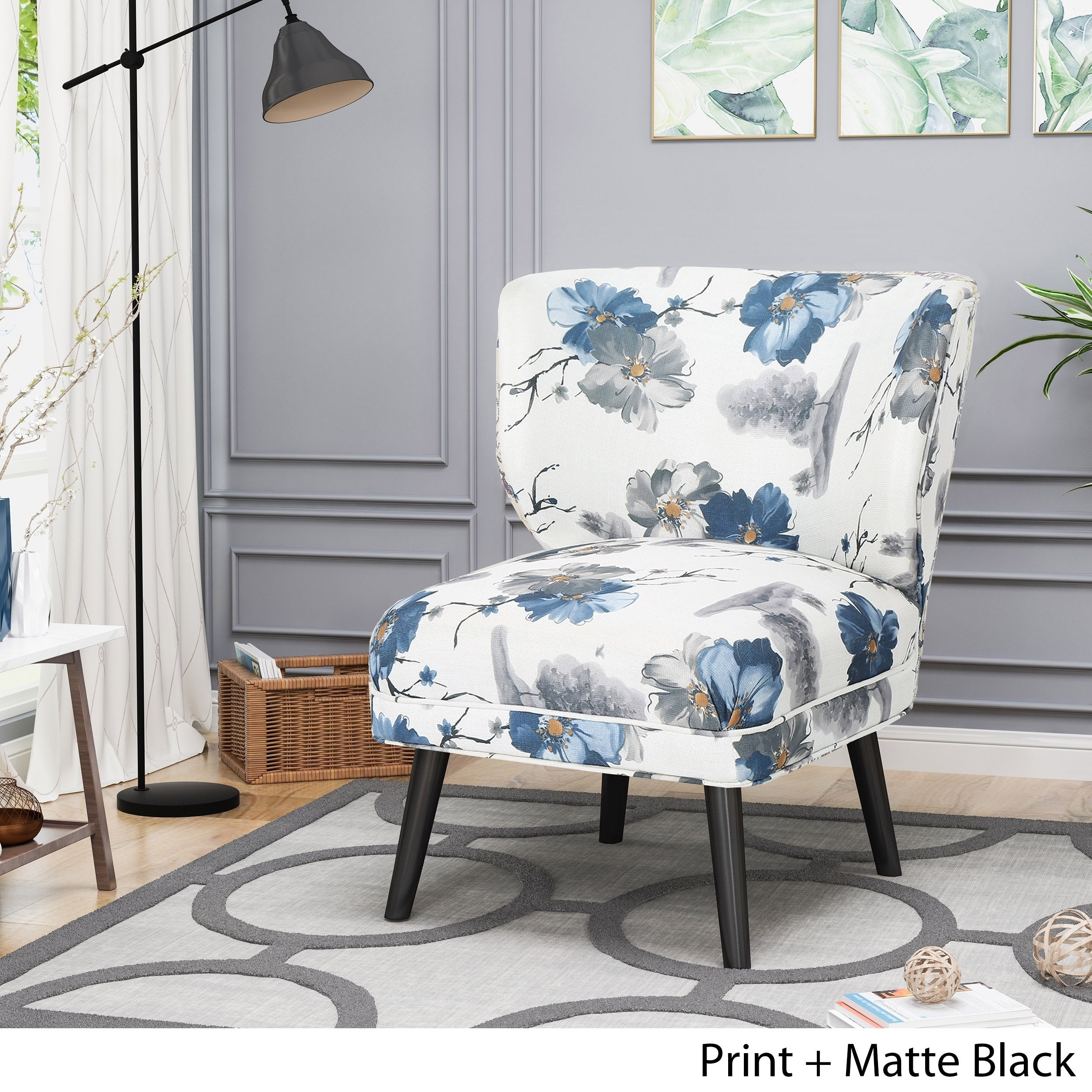 Laurier Modern Farmhouse Accent Chair By Chirstopher Knight Home On Sale Overstock 22727913 Print
