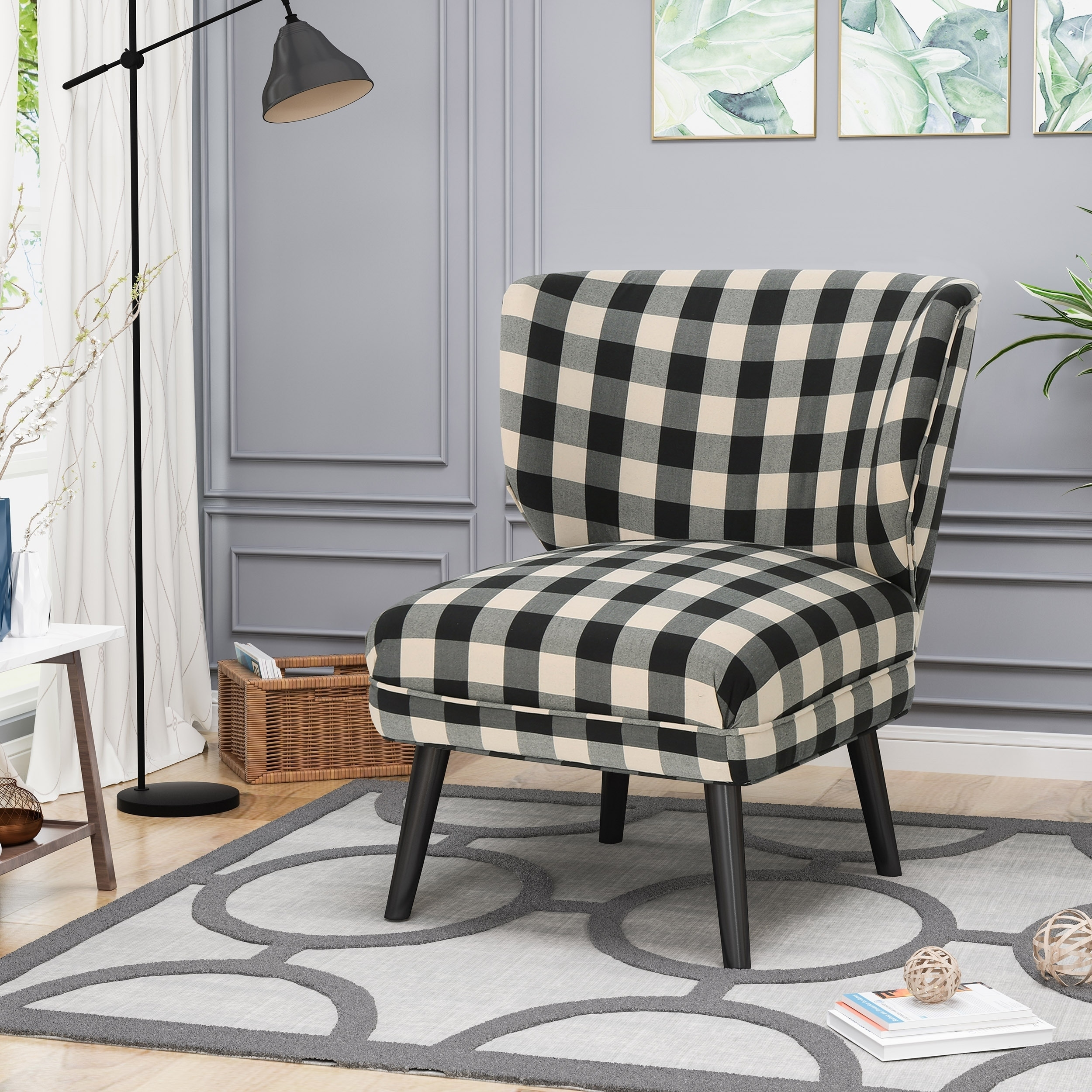 Modern Formal Living Room, Shop Black Friday Deals On Laurier Modern Farmhouse Accent Chair By Chirstopher Knight Home On Sale Overstock 22727913 Print