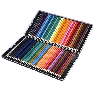 72 Premium Pre-Sharpened Colored Pencil Set for Drawing, Sketching, Artwork and Adult Coloring Books
