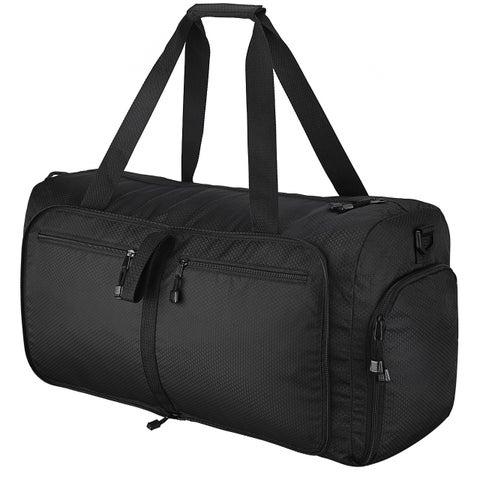 Travel Duffels Bag, 60L Large Foldable Gym Bag with Removable Shoulder Strap