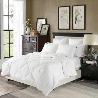 Downluxe 230 Thread Count Lightweight White Down Comforter