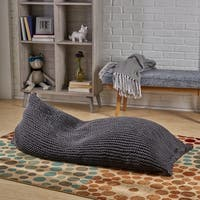 Piermont Knitted Cotton Bean Bag by Chirstopher Knight Home