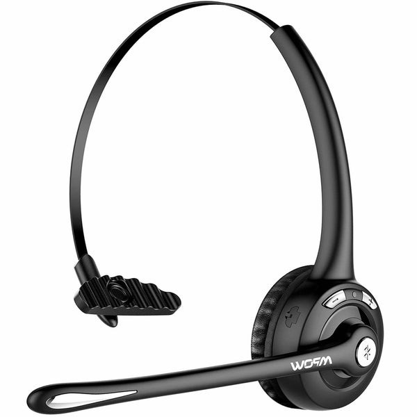 397aa17fafa Mpow Bluetooth Headset/Cell Phone Headset with Microphone, Office Wireless  Headset, Over the