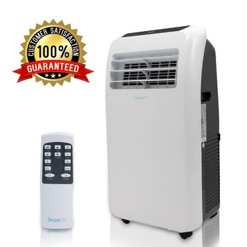 SereneLife Portable Air Conditioner-Compact Home A/C Cooling - Dehumidifier-Fan