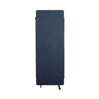 Offex Reclaim Acoustic Fabric Room Divider Expansion Panel In Starlight Blue