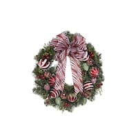 "24"" Ornament Ball Wreath"