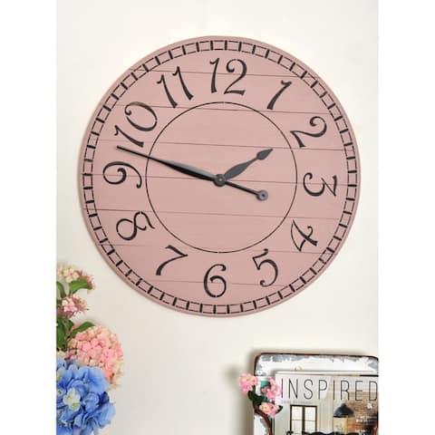 Oversized Farmhouse Wall Clock