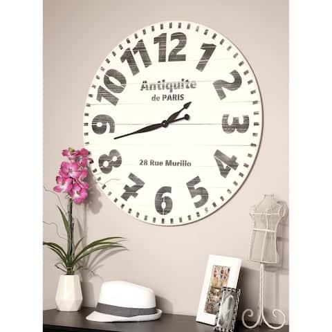 Oversized Antiquite de Paris Wall Clock
