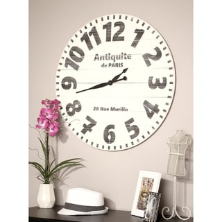 Oversized Antiquite de Paris Wall Clock