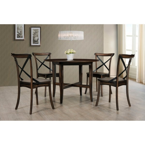 Best Master Furniture Hillary 5 Pieces Round Dinette Set