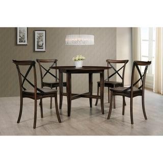 Best Master Furniture Hillary 5 Pieces Round Dinette Set