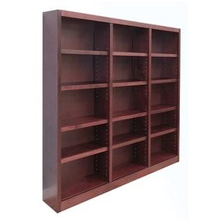 Concepts in Wood MI7272 72 x 72 Wall Storage Unit, Cherry Finish