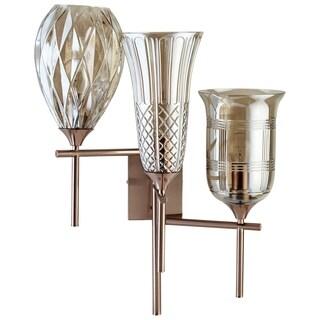 Cyan Design Darcey Gold Iron 3-light Wall Bracket