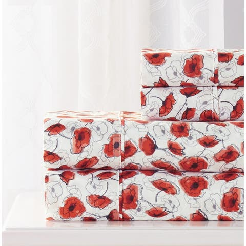 Rt Designers Collection Poppy Printed Sheet Set
