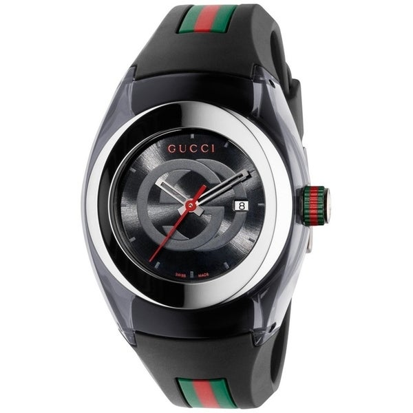 e6e4c4f55c9 Shop Gucci Men s Sync Stainless Steel Watch - Free Shipping Today ...