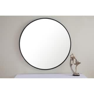 Buy Black Round Mirrors Online At Overstock Com Our Best