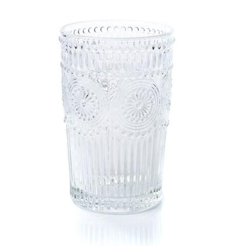 TUSCAN TUMBLER/5680-1/tumbler glass/tall glass/17 oz