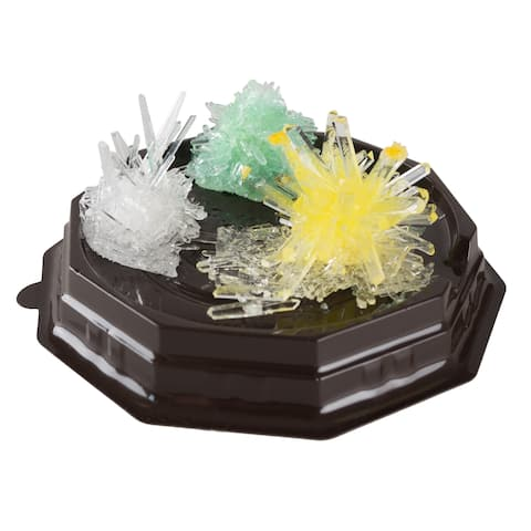 Crystal Growing Kit for Kids with 6 Color Options and Display Cases Hey! Play!