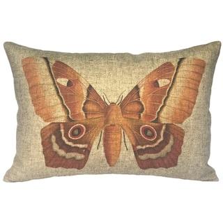 Moth Linen Pillow