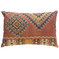Orange Global Linen Pillow