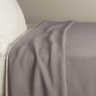 Berkshire Blanket Reversible Fleece Knit Blanket