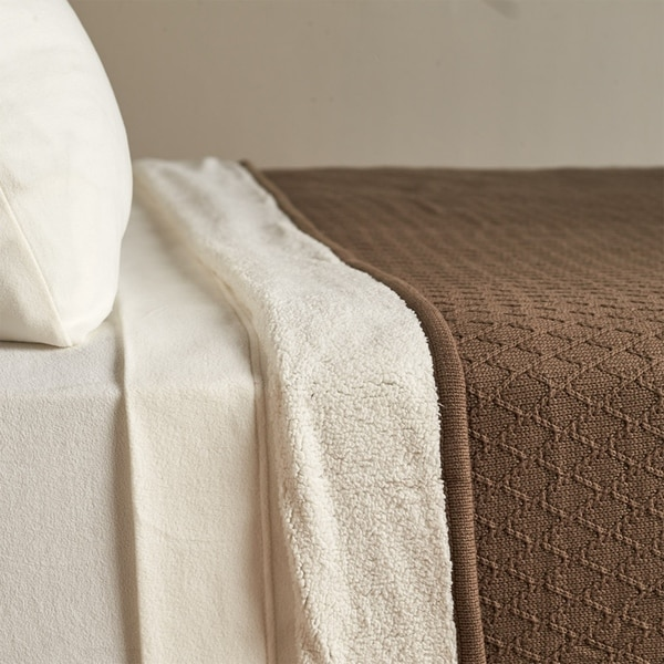 Berkshire Blanket Diamond Sweater Knit Blanket