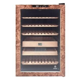 Vinotemp Wood Finish Cigar Humidor