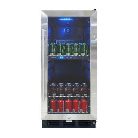 Vinotemp VT-32 Beverage Cooler with Interior Display