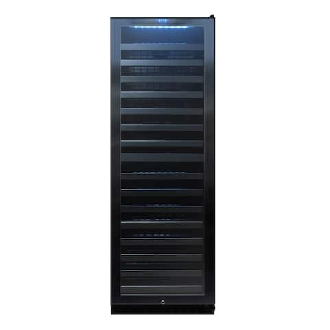 142-Bottle Dual-Zone Touch Screen Wine Cooler