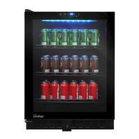 Vinotemp VT-54 Touch Screen Beverage Cooler (Left Hinge)