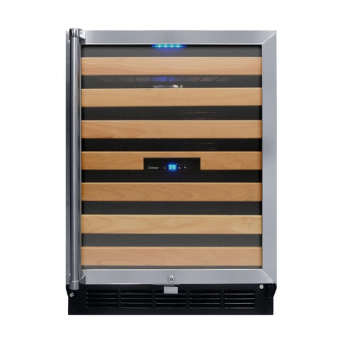 Vinotemp 50-Bottle Wine Cooler with Interior Display - N/A
