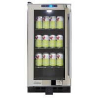 Vinotemp VT-BC32TSSM-L Mirrored Trim Beverage Cooler