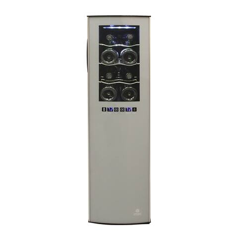 Vinotemp 18-Bottle Dual-Zone Thermoelectric Wine Cooler