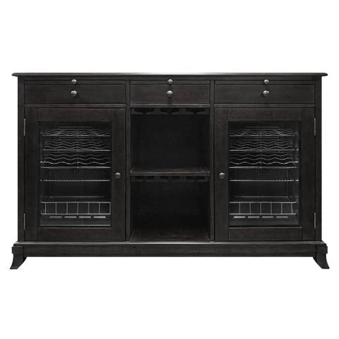 Vinotemp Cava 38-Bottle Wine Storage Credenza (Espresso)