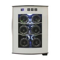 Vinotemp 6-Bottle Thermoelectric Wine Cooler - N/A