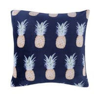 Pineapple Stripe Accent Pillow