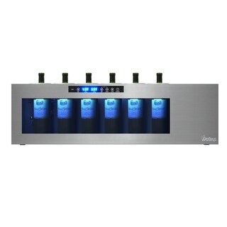 Vinotemp Il Romanzo 6-Bottle Dual-Zone Open Wine Cooler